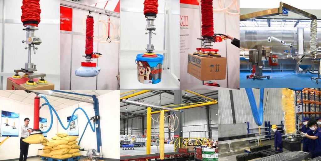 Vacuum Application-Cartons and bags